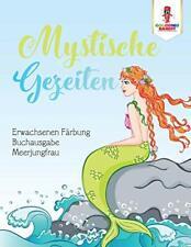 Mystische Gezeiten: Erwachsenen Farbung Buchausgabe Meerjungfrau, Bandit,,
