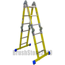 Clow Folding Glassfibre Multi-Function Ladder to EN131