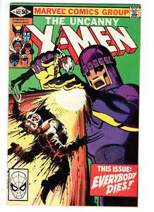 UNCANNY X-MEN #142 (1981) - GRADE 7.0 - DAYS OF FUTURE PAST - EVERYBODY DIES!