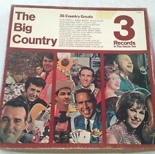 The Big Country - 36 Country Greats 3 vinyl LP Box  Capitol SH-3307