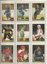 Lot of 20 Different 1987-88 OPC O-Pee-Chee Cards *U-Pick* Complete Your Set Mint