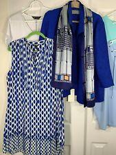 Designer Women's Clothing Lot Of 6 Michael Kors Calvin Klein NIC+ZOE Chico's