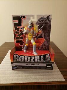 """Godzilla Jet Jaguar 6.5"""" Vinyl Action Figure (Playmates Toys, Toho, 2021) - New"""