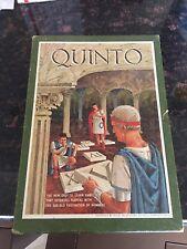 Quinto 3M Bookshelf Game 1964Vintage Retro Rare Complete