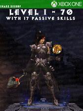 Diablo 3 Xbox One - Fully Modded Set Wizard Vyr's - Level 1 - 70