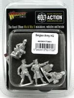 Bolt Action 403017301 Belgian Army HQ (WWII) Early War Infantry Command Officers