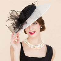 New Ladies Hat wedding races ascot Occasion Formal Mother Of The Bride