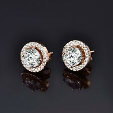 Unique 18k Gold Filled Swarovski Crystal Stunning Stud Earrings Accessorize