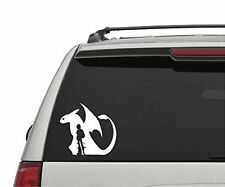 "Large 23"" How to Train Your Dragon Toothless and Hicup Car Vinyl Decal Sticker"