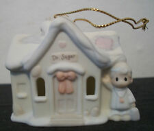 $ Precious Moments Sugar Town Doctor Dr Office Ornament Christmas Collectible .
