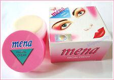 1 x 3G. MENA Herbal Cream White Mineral Whitening Acne / Dark Spot Free Shipping
