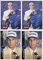 1994-95 Jason Kidd Rookie Lot Upper Deck Rc Class No. 160 Stadium Club No. 172