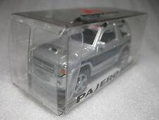 Mitsubishi Pajero Mini Silver & Blue 2012 1:64 Diecast Car Promo NIB