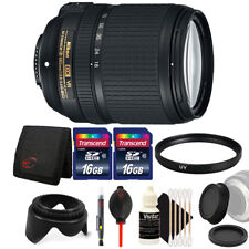 Nikon AF-S DX NIKKOR 18-140mm Lens for Nikon D5200 D5100 with Accessory Bundle