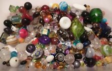 50 grams ~Assorted Mixed Colours & Sizes ~ Foil, Lampwork,Glass,Seed Beads