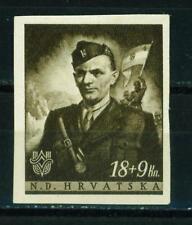 Croatia-Germany Axis WW2 Army Soldier 1941 MNH