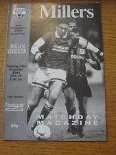 29/11/1994 Rotherham United V Wigan Athletic [AUTO PARABREZZA SCUDO]. l'oggetto in