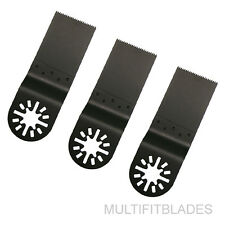 """3 x 1-1/4"""" Fine Tooth Oscillating Tool Blades - Fein Multimaster Compatible"""