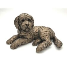 More details for frith sculptures ozzy cockapoo figurine cold cast bronze dog sculpture at035