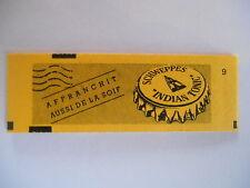 Carnet timbres 2,30 francs - Schweppes - Affranchit aussi la soif - Non ouvert