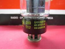 Raytheon Usa Black Plate 6L6Gb Vacuum Tube Measured Strong 92% Gm