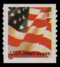 3622 (CF1) Postal Counterfeit Nondenominated (37c) Flag Single 2003 MNH -Buy Now