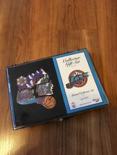 Utah Jazz Official Collector Pin Gift Set New Limited Edition 1 In 1000