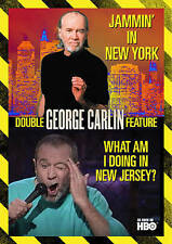 George Carlin Double Feature: Jammin in New York/What Am I Doing In New Jersey (