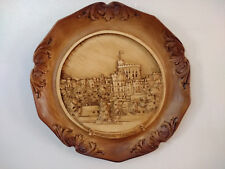 """Wall Hanging Plate Windsor Castle Plaque Decoration Boxed 23cm 9"""""""