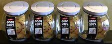 OXO Good Grips 3 Qt POP Medium Jar Air Tight Food Storage 4 Piece Set BPA Free