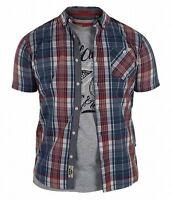 D555 Men's Vincent Regular Short Sleeve Shirt & T Shirt Pack