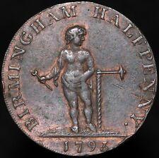 More details for 1793 | birmingham half-penny token | tokens | km coins