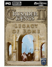 Crusader Kings II-Legacy of Rome DLC Steam Key Code PC Global [livraison rapide]