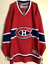 Reebok Premier NHL Jersey Montreal Canadiens Team Red sz 3X