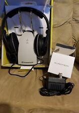 Sennheiser RS120 On-Ear Wireless RF Headphones with Charging Dock In Box