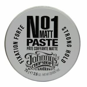 Johnny's Chop Shop N'1 Matt Paste 75g strong hold, long lasting hold, texture