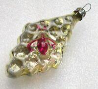 Antiker Russen Christbaumschmuck Glas Weihnachtsschmuck Ornament Biene auf Honig
