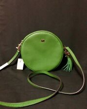 Authentic michael kors canteen leather sling bag