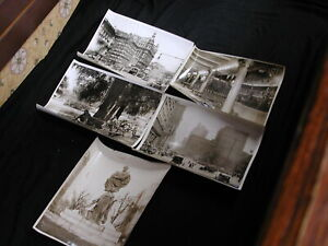 Historical NYC Photos Central Park Columbus Square set of 5