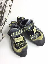 La Sportiva Muira Women's Size 10.5 Black Yellow Rock Climbing Shoes