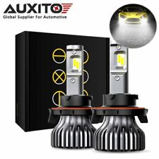 2x AUXITO H13 9008 200W 9000LM CREE LED Headlight Low Beam Bulb Kit 6000K White