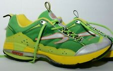 Newton Terra Momentum Mens Running Shoes Size 11.5 Green Yellow Athletic Trail