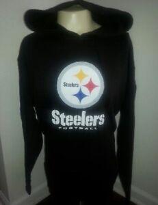 PITTSBURGH STEELERS Sweatshirt Hoodie Pullover X-LARGE Adult (XL) New NFL XL