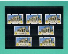 ATM-Satz-Rarität FEHLVERWENDUNG 5-150 ** Mi.-Nr. 6 F II Tarif '16/'17!! 7 Werte