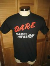 DARE to Resist Drugs and Violence Reproduction T Shirt L NWOT