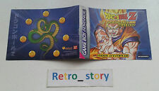 Nintendo Game Boy Advance DBZ - L'Héritage De Goku Notice / Instruction Manual