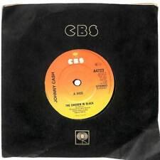 "Johnny Cash - The Chicken In Black - 7"" Vinyl Record Single"