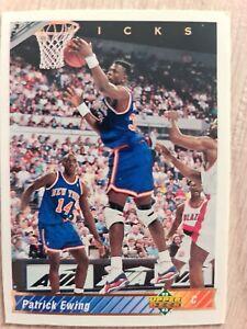 Carte Collection 🏀 basketball Upper Deck 93 Patrick Ewing NBA #215 Knicks NY