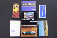 98 - 1998 Volvo C 70 C70 Owners Manuals Drivers Books Pouch 7 Pieces Set # Q195