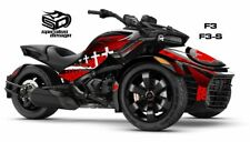 "Can Am Spyder F3 F3S Decal Graphic Wrap kit - ""Patriot Canada"""